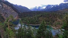 Le lac aveugle Images libres de droits
