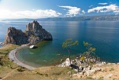 Le lac Baïkal Photos libres de droits