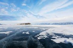 Le lac Baïkal photo libre de droits