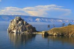 Le lac Baïkal images libres de droits