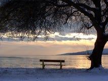 Le Lac Balaton photo stock