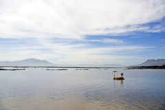 Le lac Chapala, Ajijic, Mexique Photo stock
