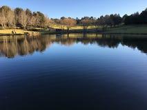 Le lac chez Fagan Park Photographie stock libre de droits