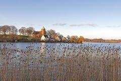 Le lac chez Skanderborg image libre de droits