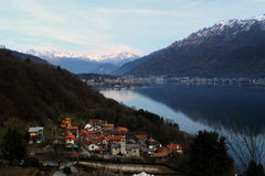 Le lac Como photographie stock