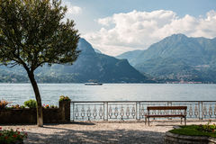 Le lac Como Photos stock