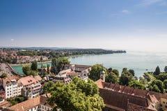 Le Lac de Constance, Allemagne - Suisse photos stock