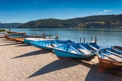 Le lac de Millstatt Photo libre de droits