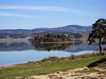 Le lac de miroir Photos libres de droits