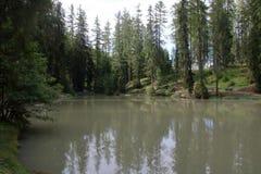 Le lac de Sompunt Photographie stock libre de droits