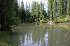 Le lac de Sompunt Photographie stock