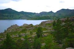 Le lac de Toraygyr Image libre de droits