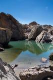 Le lac des neuf couleurs Royalty Free Stock Photo