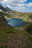 Le lac eye, les sept lacs Rila, montagne de Rila Photos stock