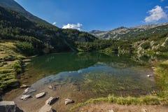 Le lac eye, montagne de Pirin Photo libre de droits
