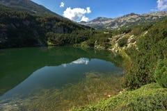 Le lac eye, montagne de Pirin Photos libres de droits