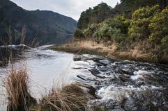 Le lac Glendalough de montagne images stock