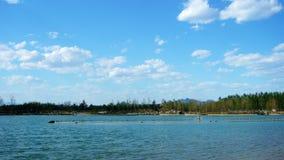 Le lac Huan-Hua Image libre de droits