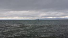 Le lac Huron puissant Images libres de droits