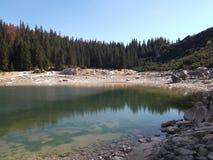 Le lac Jablan Image stock
