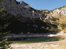 Le lac Jablan Image libre de droits