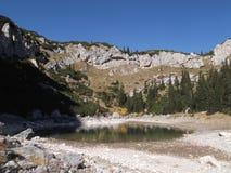 Le lac Jablan Photo stock