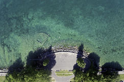 Le Lac Léman en Suisse Images stock