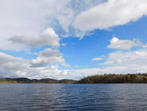 Le lac Ladoga Images stock