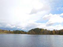 Le lac Ladoga Image libre de droits