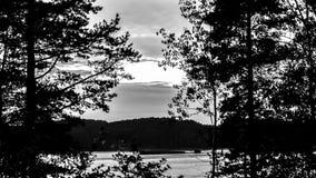 Le lac Ladoga en Carélie photos libres de droits
