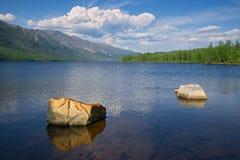 Le lac Leprindo Images libres de droits