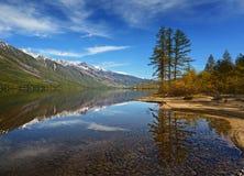 Le lac Leprindo Photos libres de droits