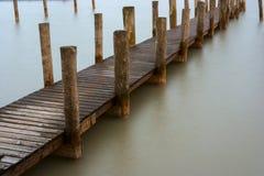 Le lac Neusiedl, Neusiedler voient, l'Autriche Images libres de droits