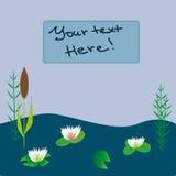 Le lac plante l'illustration Photos stock