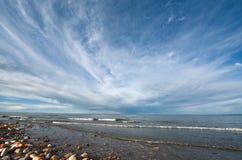 Le Lac Qinghai, dans le provice du Qinghai de la Chine Image libre de droits
