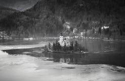 Le lac a saigné Photo libre de droits