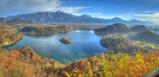 Le lac a saigné Images stock