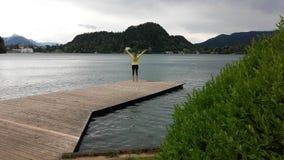 Le lac a saigné Photographie stock