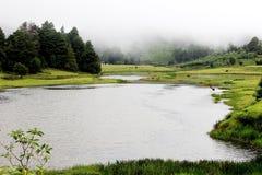 Le lac saint Images libres de droits