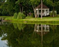 Le lac se reflètent Photos libres de droits