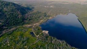 Le lac stanley en été a rempli de contexte de l'eau et de montagne de l'Idaho clips vidéos