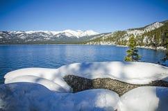 Le lac Tahoe 8 Images libres de droits