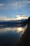 Le lac Tahoe du sud, la Californie Image libre de droits
