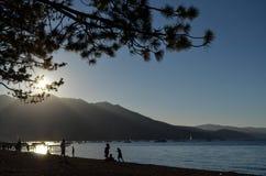 Le lac Tahoe scénique Photographie stock