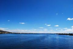 Le Lac Titicaca bleu Image stock