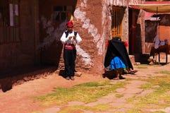 Le Lac Titicaca Pérou/Lac Titicaca le Pérou emplacement le 15 septembre 2013/A image libre de droits