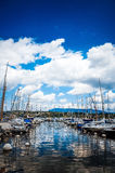 Le lac Zurich est un lac en Suisse Photos libres de droits