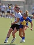Le Lacrosse des femmes de NCAA (LAX) Image stock