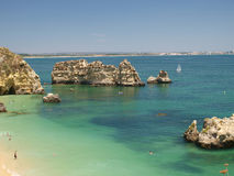 Le Lagos-Portugal Photos stock