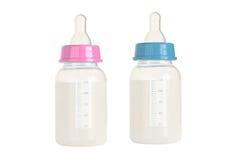 Le lait des enfants images libres de droits